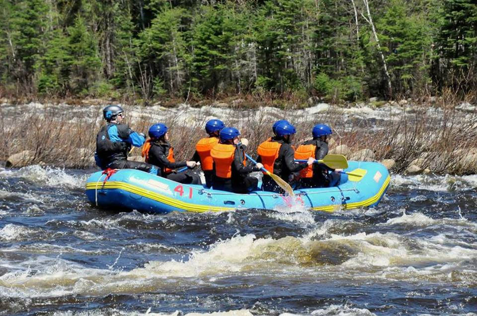 Rafting The Montmorency River